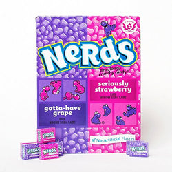 Nerds Gotta-Have Grape + Seriously Strawberry