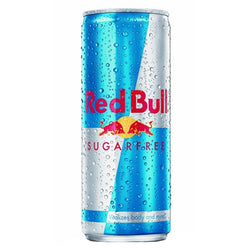 Red Bull Original, Sugar Free, and Total Zero (12 oz.)