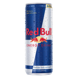 Red Bull Original, Sugar Free, and Total Zero (8.4 oz.)