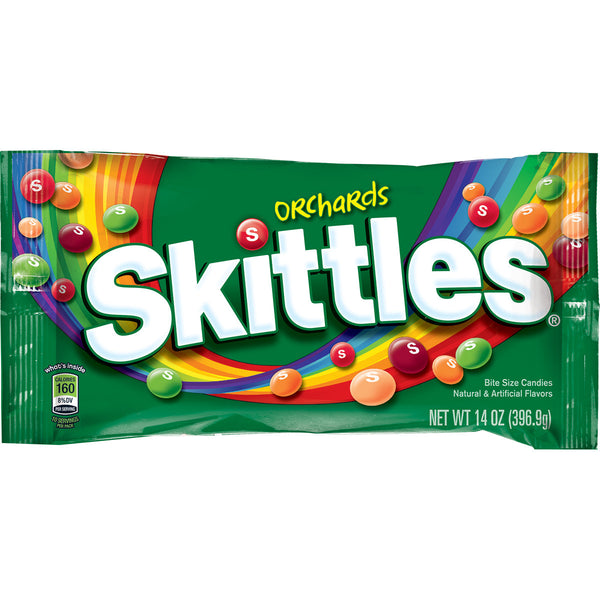 Skittles Orchards Share Size