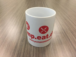 The Original pump.eat.drink Mug