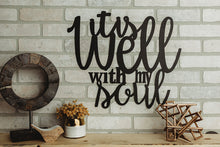 *Ready To Ship* It Is Well With My Soul Wall Art