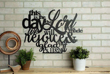 Load image into Gallery viewer, This is the Day the Lord Has Made - Psalm 118:24 Wall Art