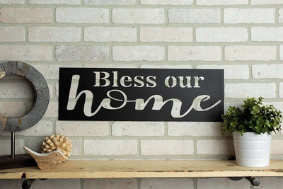 Bless Our Home Sign