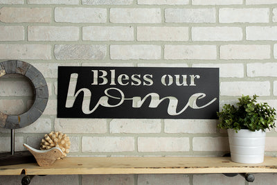 *READY TO SHIP* Bless Our Home Sign