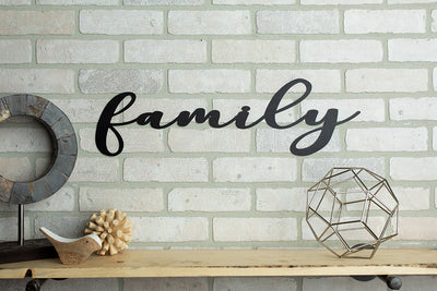 *Ready To Ship* Family Sign