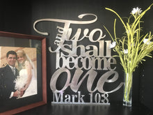Mark 10:8 - And Two Shall Become One Sign