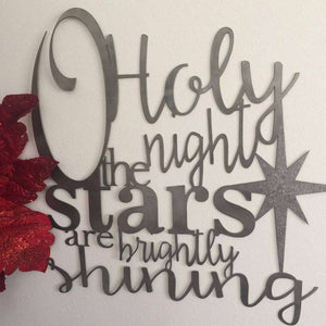 O Holy Night Sign