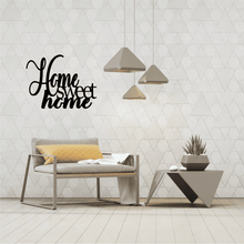 Load image into Gallery viewer, Home Sweet Home Metal Wall Art