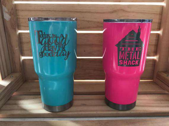 Today is a Good Day for a Good Day Engraved Tumbler