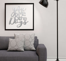 Load image into Gallery viewer, You Me and The Dogs Metal Wall Art