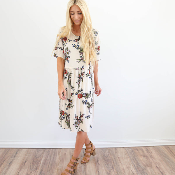 S & Co. Gracie Flower Dress