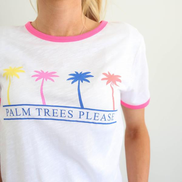 Palm Trees Please Tee