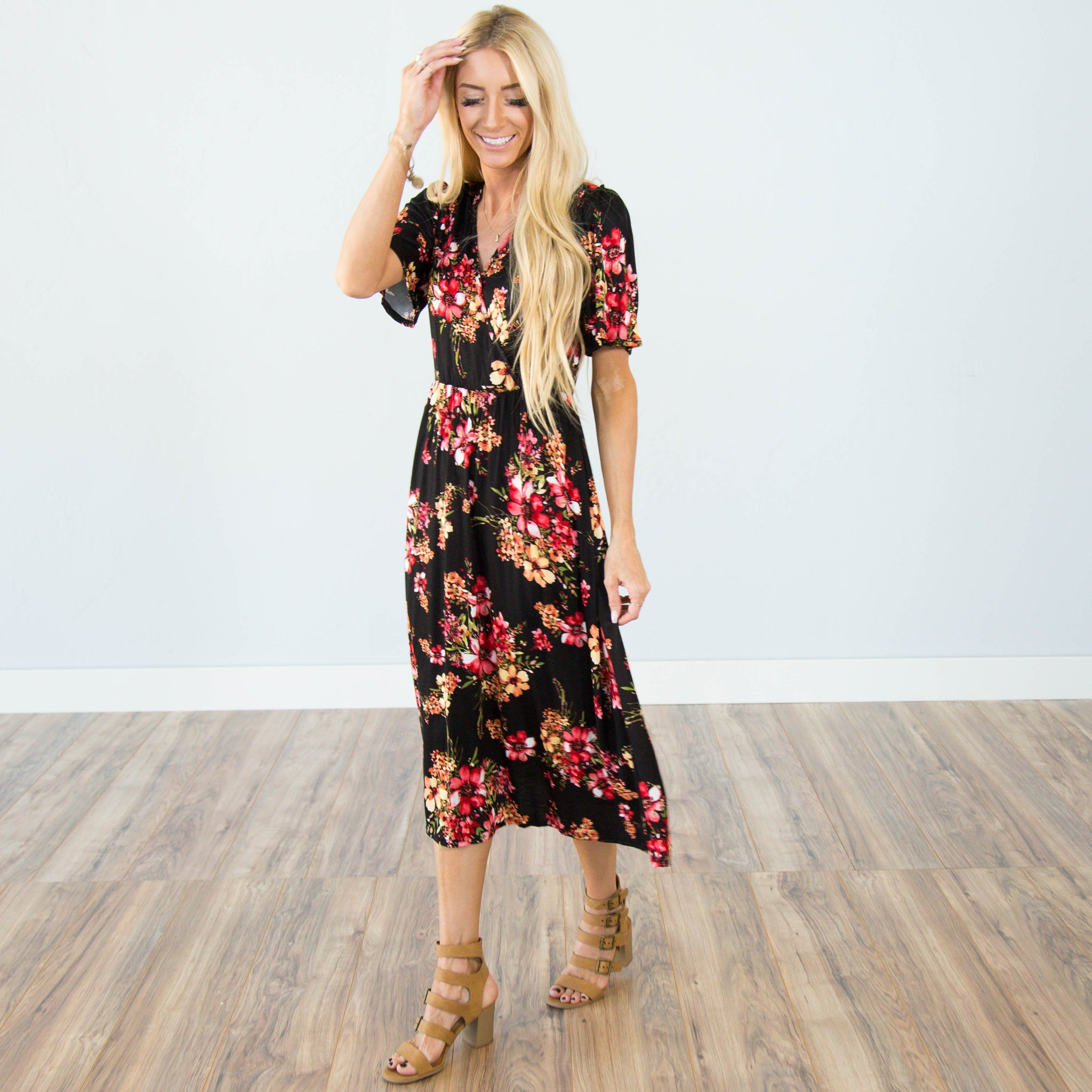 Haven Printed Dress