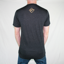 Load image into Gallery viewer, Black and Gold T-Shirt
