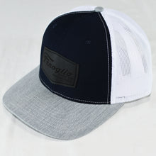 Load image into Gallery viewer, Navy and Gray Mesh w/ Black Patch