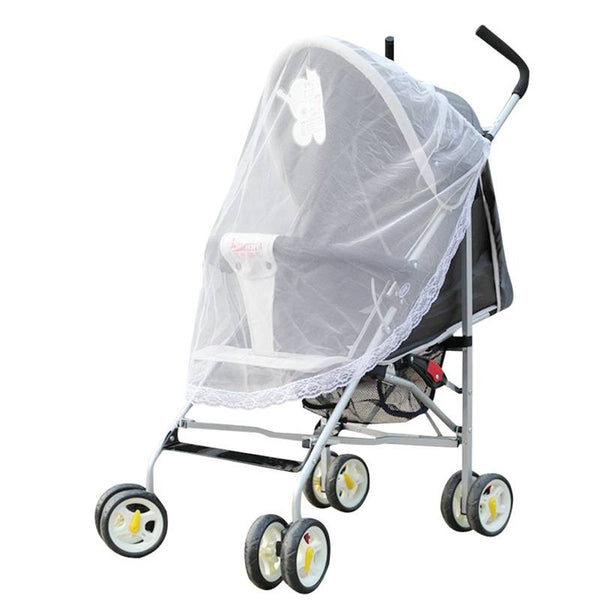 1 Piece Baby Mosquito Net For Strollers and Carriers.