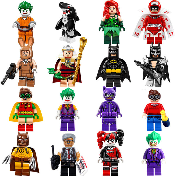 16 Piece Super Heroes Building Block Toys