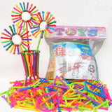 256 Piece Plastic Intelligence Sticks - Educational Toy