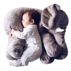 Infant Elephant Pillow, two sizes, six colors