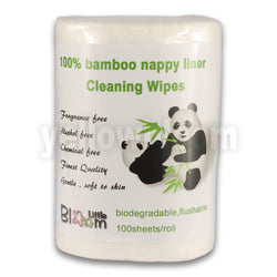 Baby Biodegradable Disposable Cloth Nappy Bamboo Liners