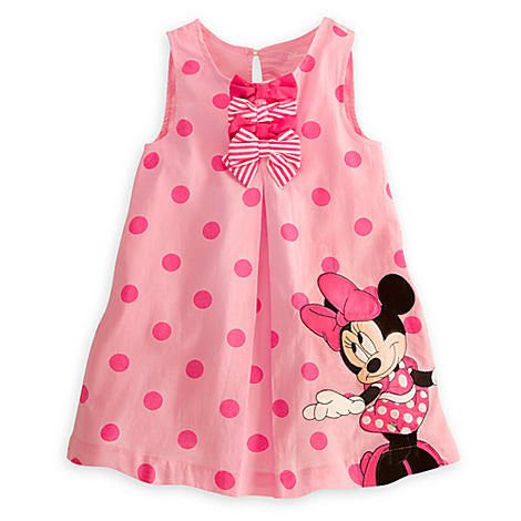 Minnie Mouse Girls Summer Dress New for 2017