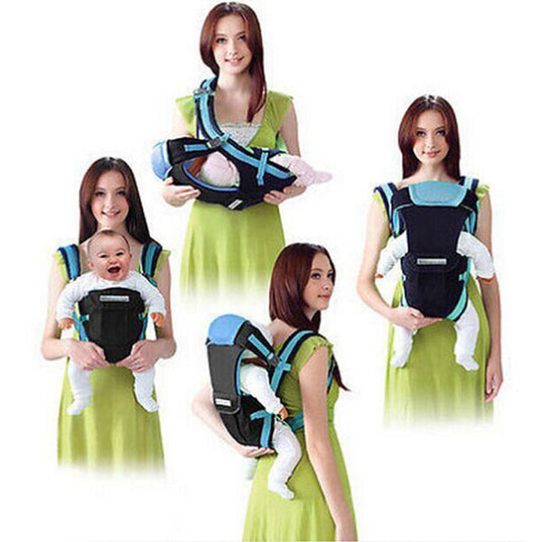 Baby Carrier 4 in 1 Infant Sling Backpack Pouch