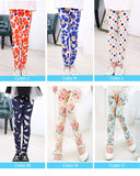 Kids Printing Flower Classic Leggings - 9 Designs and 12 Sizes