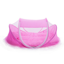 Cute Baby Portable Crib - 4 pieces with Mosquito Net.