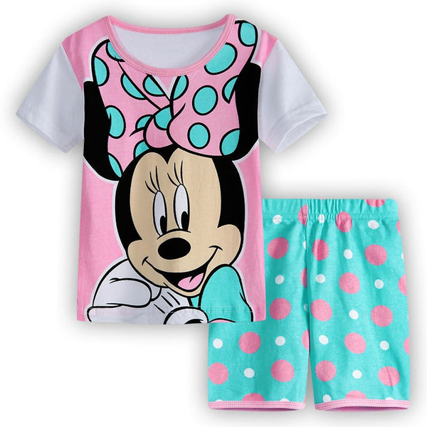 Minnie Mickey Pajamas - Size 2-7 - Eight to Choose From