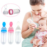 New Hot Silicone Baby Training Spoon