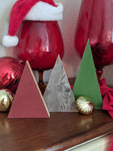 Reversible Decorative Christmas Trees, Set of 3