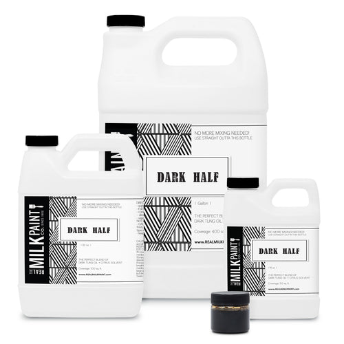 Dark Half, 1 Gallon Real Milk Paint Co.