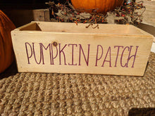Pumpkin Patch Decorative Box