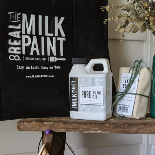 Real Milk Paint Pure Tung Oil 8 oz.