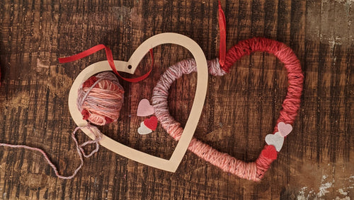 Heart Wreath Kit