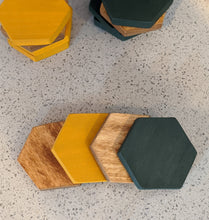 Hexagon Coaster Set