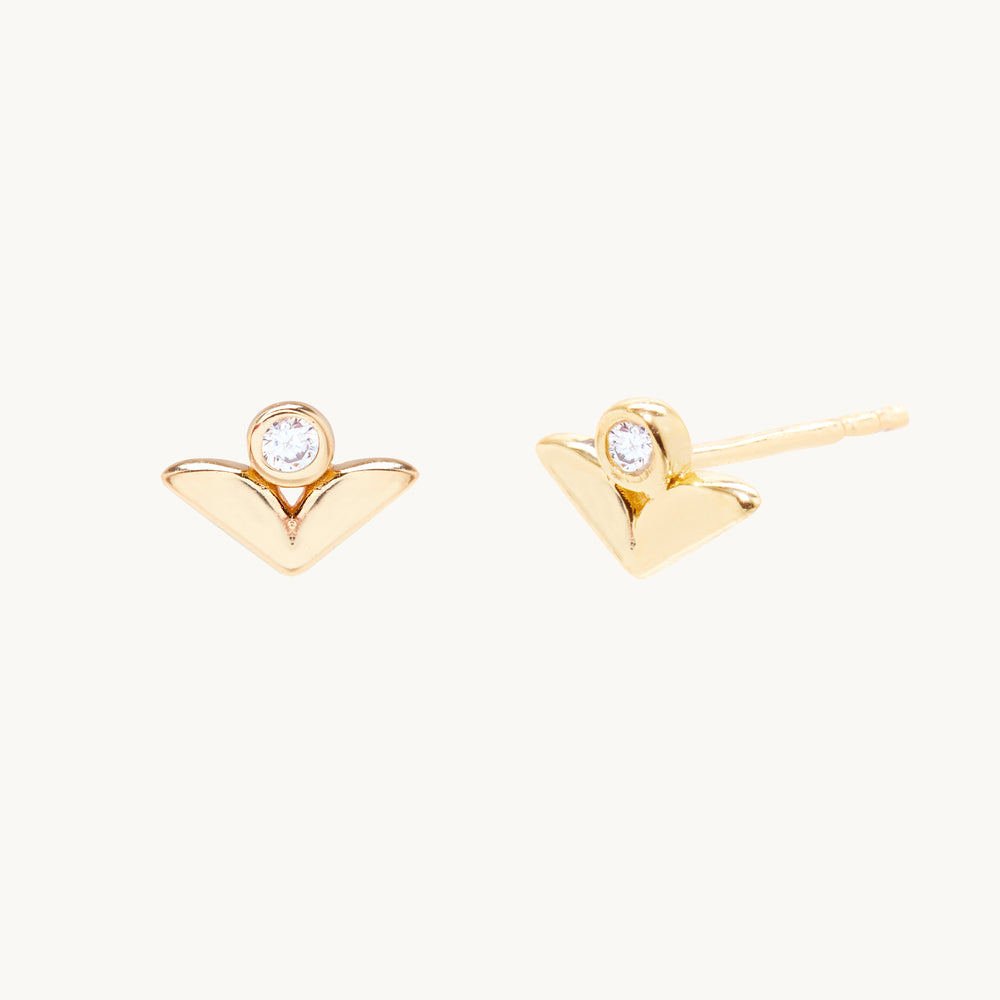 Rowan Berry 14k Gold Earrings