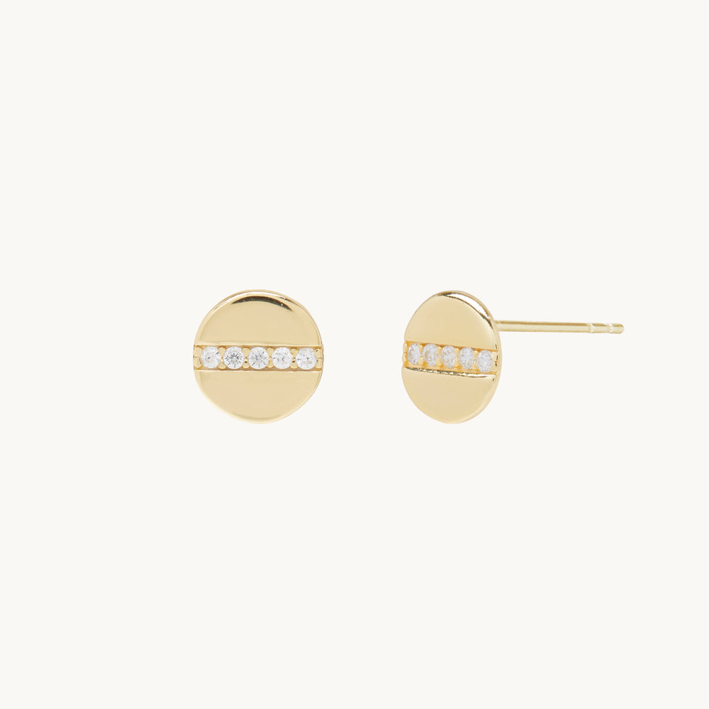 Dawn 14k Gold Stud Earrings