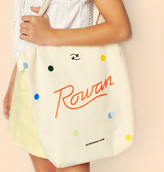 Free Rowan Tote Bag! (discount applied at checkout)