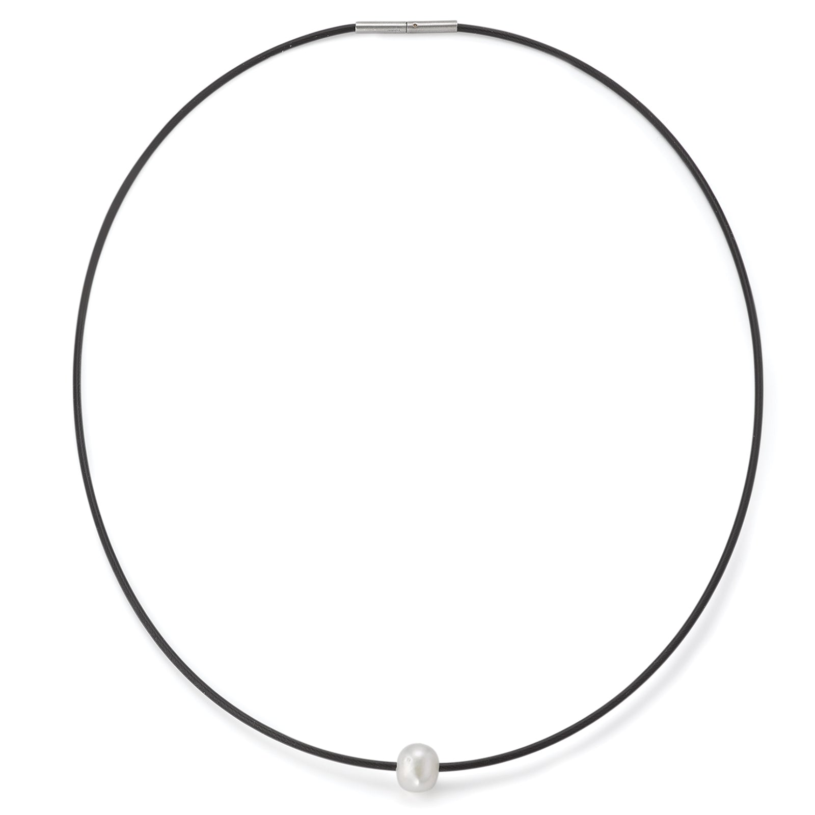 015.03PW01 TeNo Stainless Steel Pearl Necklace
