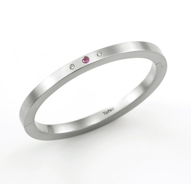029.02S05SP TeNo Stainless Steel Bangle