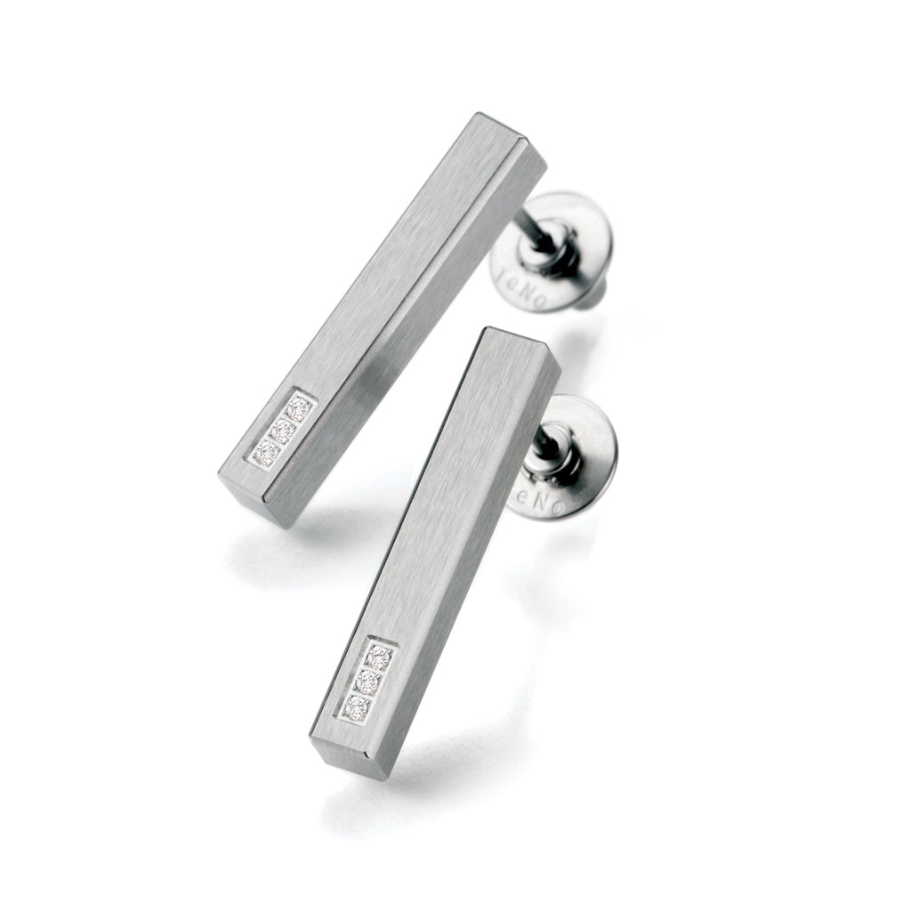 039.21P02.00 TeNo Stainless Steel Earrings
