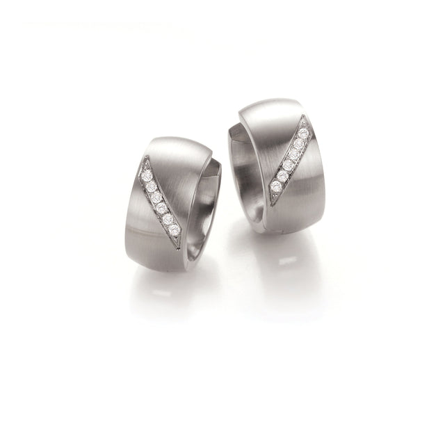 039.45P07 TeNo Stainless Steel Earrings