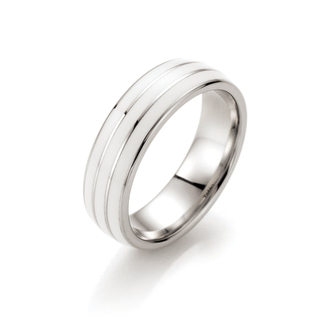 164.2500.D74W TeNo Stainless Steel Ring