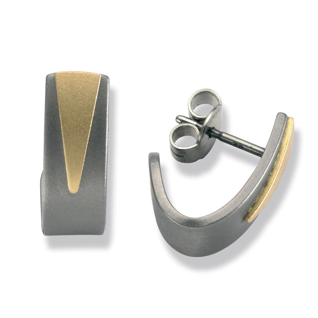23757-01 TeNo Titanium Earrings