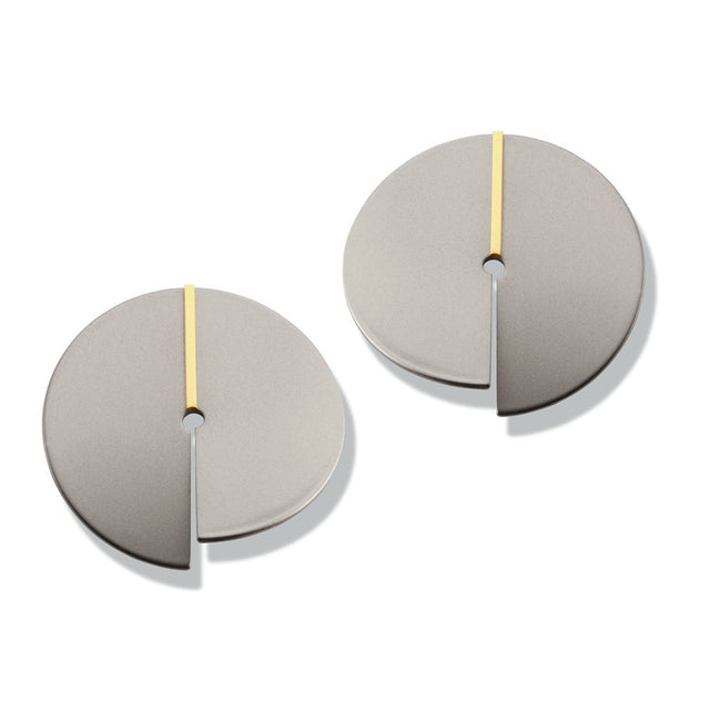 23824-01 TeNo Titanium Earrings