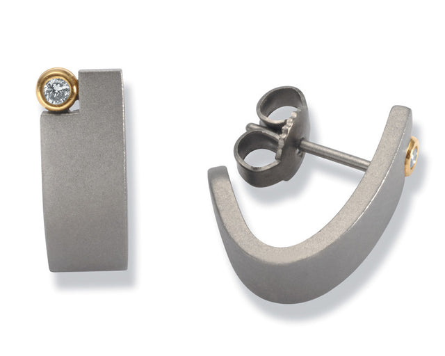 24032-01 TeNo Titanium Earrings