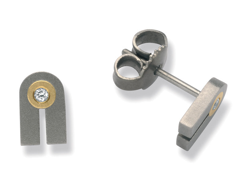 24042-01 TeNo Titanium Earrings