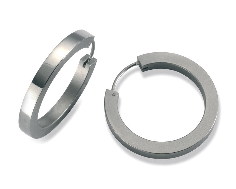 24105-01 TeNo Titanium Earrings